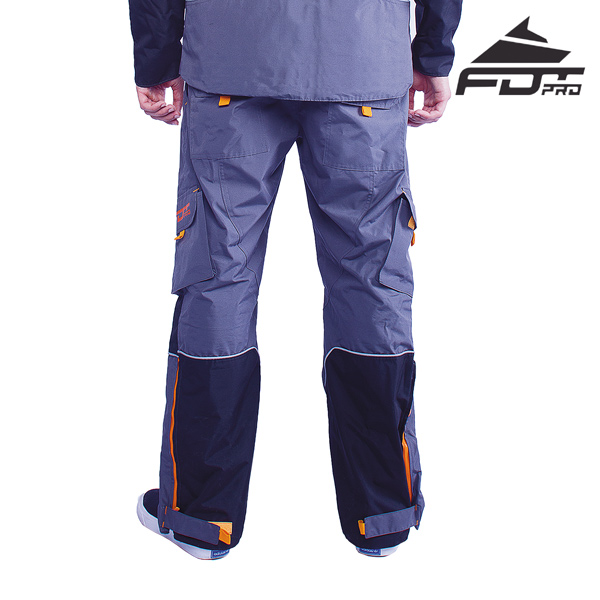 Grey color Pants of Water Resistant Nylon
