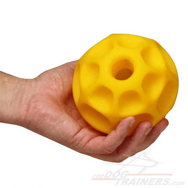 Dog Ball Tetraflex for Dispensing Treats