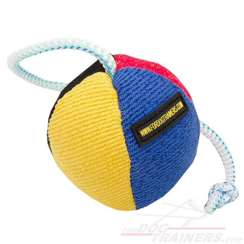 Toys For Trainers : Buy today training dog toy french linen ball
