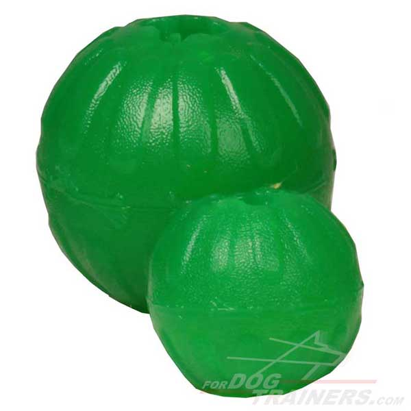 Special Rubber Treat Dispensing Ball for Dogs