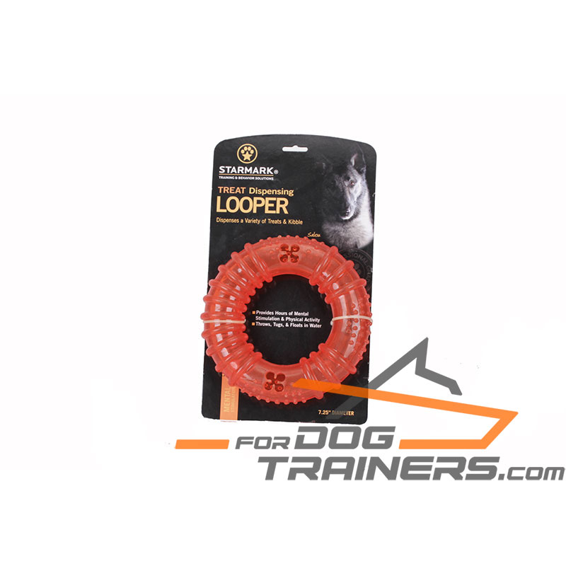 Indestructible Rubber Treat Dispensing Looper