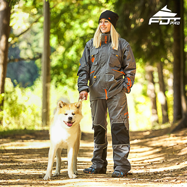 FDT pro unisex dog training jacket
