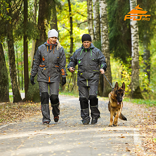 Unisex Dog Training Suit for All Weather Conditions