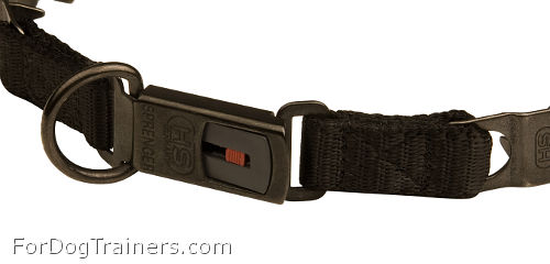 Black Stainless Steel Clicklock Buckle