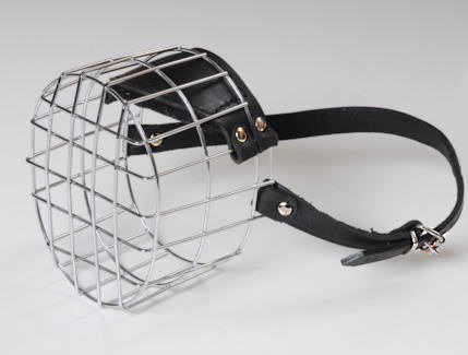 Wire Basket Dog Muzzle of Lightweight Construction - Click Image to Close