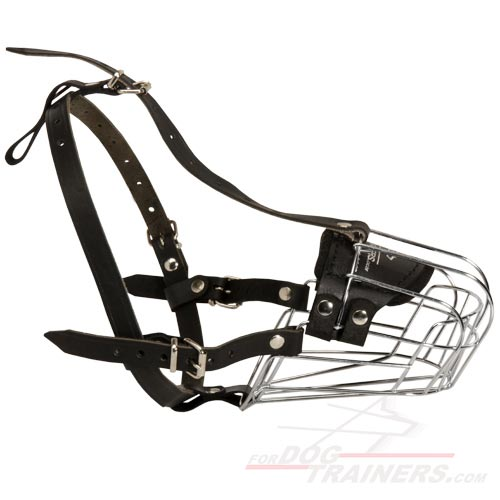 Wire Basket Dog Muzzles (All Sizes)