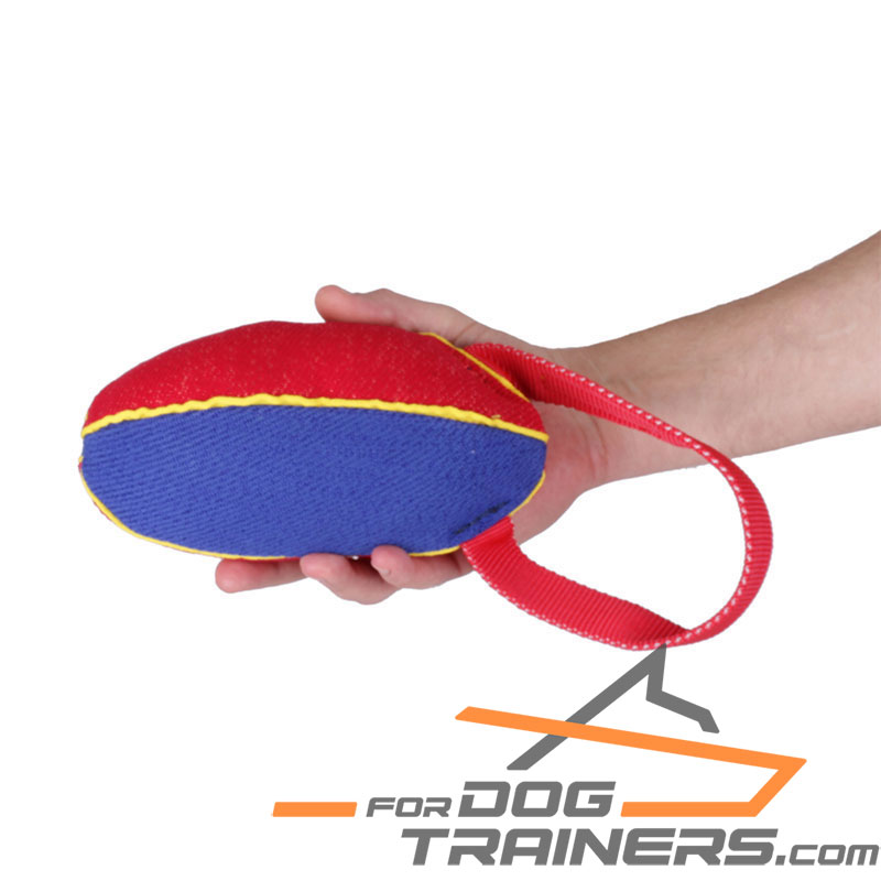 Strong French Linen Dog Tug for Bite Training - Medium - 4 inch*9 inch (11*23 cm) - Click Image to Close