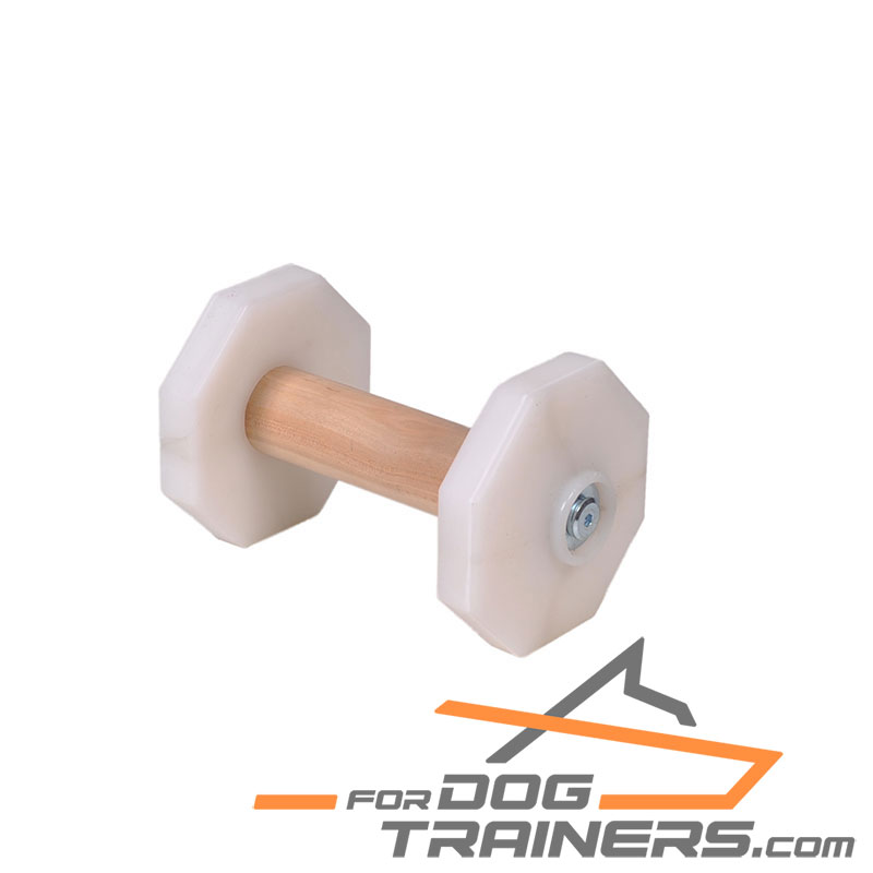 'Fetch Master' Top Grade Dog Dumbbell for Schutzhund Trials 650 g - Click Image to Close