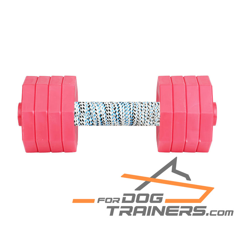 'Hard Workout' Excellent Dog Dumbbell for Retrieve Training 2000g - Click Image to Close