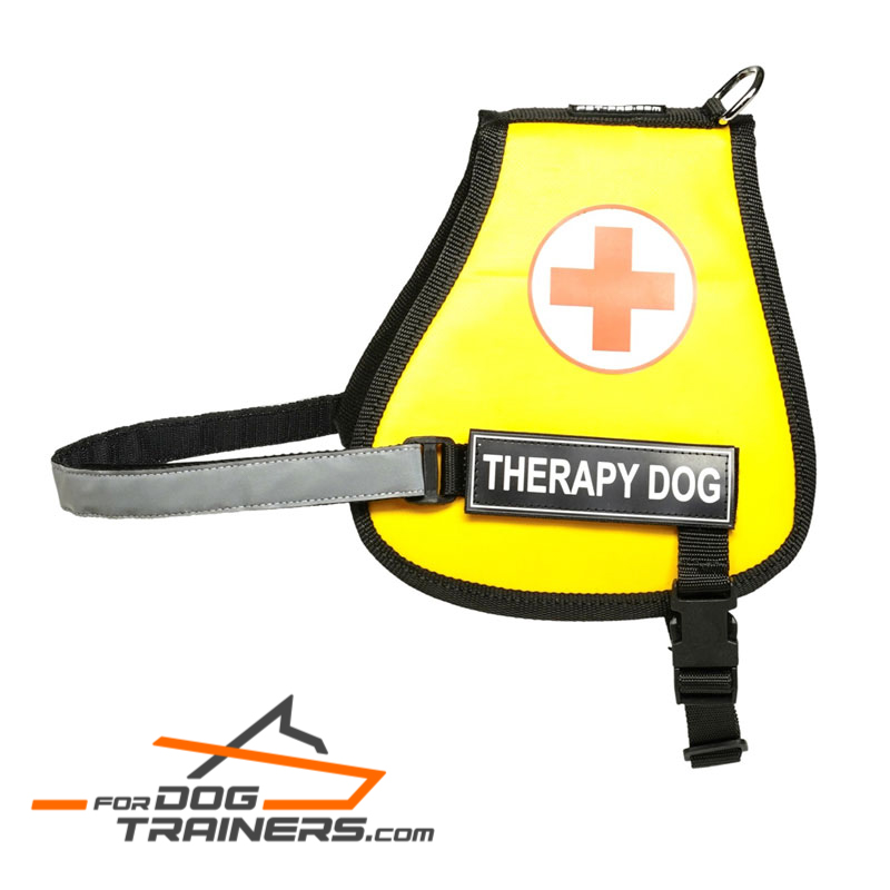 High-quality Nylon Vest Harness for Therapy Dogs