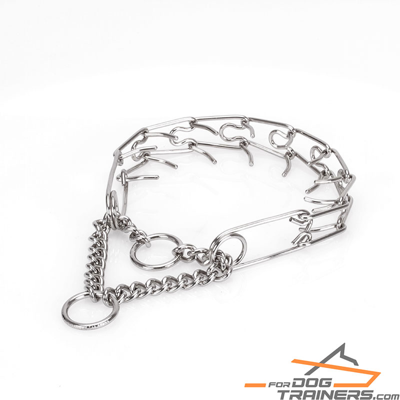 a0c9135736791 Stainless Steel Prong Dog Collar|Solve Behavioral Problems