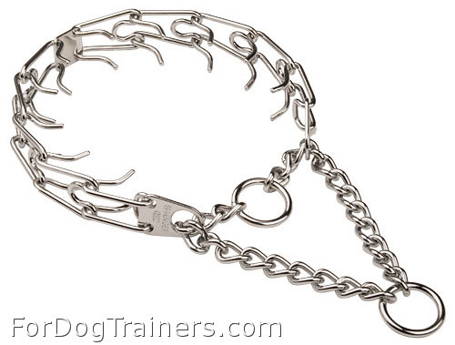 Top-Class Dog Pinch Collar - 3.99mm (1/6 inch) prong diameter - Click Image to Close