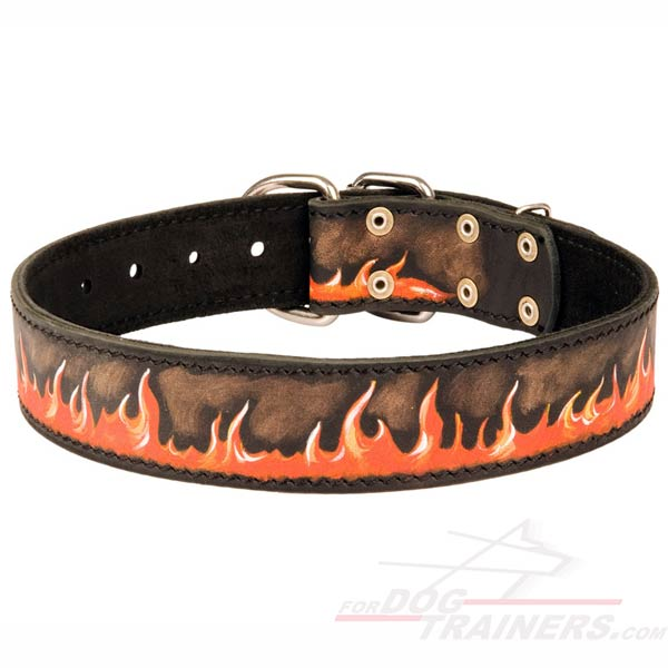 Cool Flamy Collar