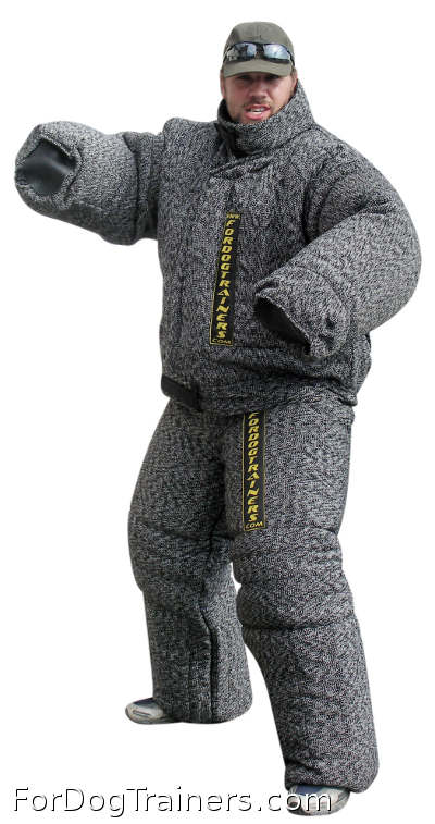 Full protection police bite suit - PBS1 black is what you need in training process
