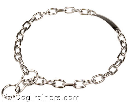 Fur Saver Dog Collar Steel Chromium Plated is an  excellent choice