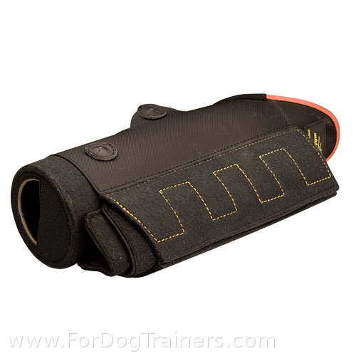 Short dog training bite sleeve