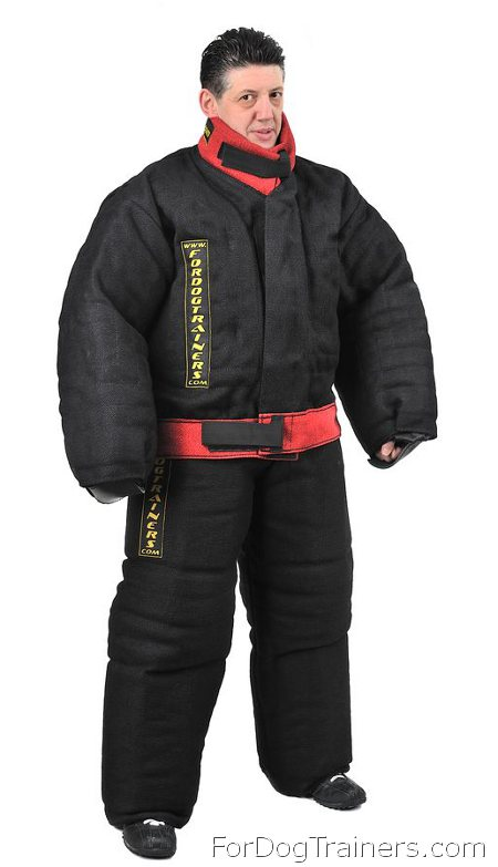 Reliable Protection Bite Suit for Safe Training - PBS1X - Click Image to Close