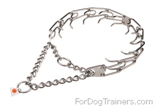 Stainless Steel Dog Prong Collar