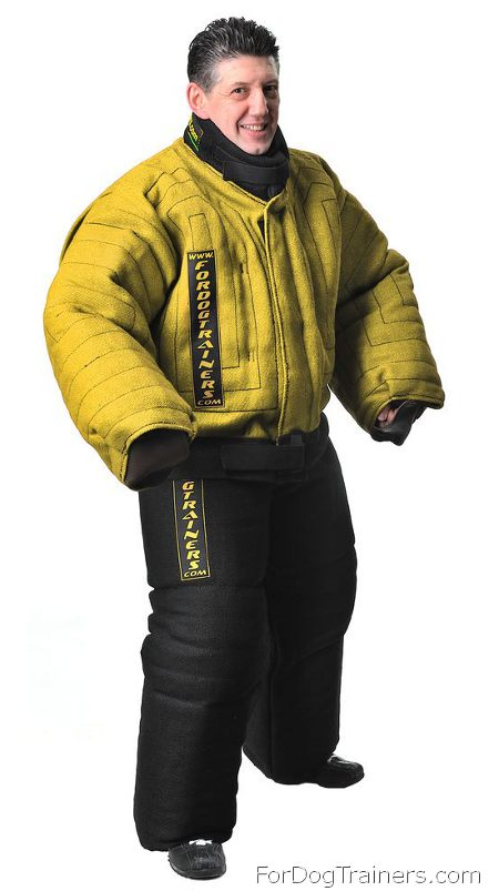 Yellow Protection Bite Suit