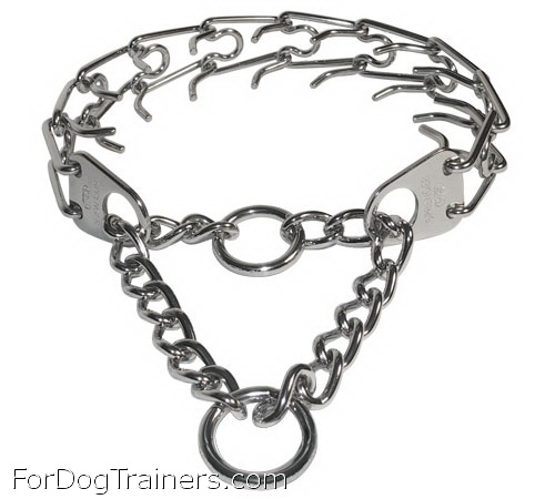 chain dog collar made in Germany