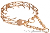 Curogan Dog Prong Collar - 1/8 inch (3.25 mm)  Herm Sprenger Pinch Collar