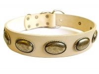 Exclusive Dog Leather Collar of Highest Quality