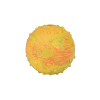 Rubber Dog Ball with Bell Inside - Dog Training Toy 2 1/3 inch (6 cm)