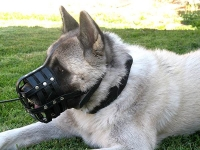 Everyday Light Weight Super Ventilation Akita muzzle - product code   M41