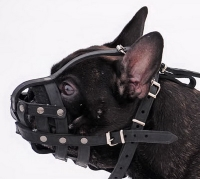 Everyday Light Weight Super Ventilation French Bulldog muzzle - product code   M41