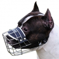 NEW Amstaff Revolution Design Wire Dog Muzzle - M9