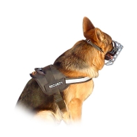 Reflective Nylon German Shepherd Service Dog Harness with Handle