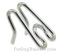 Extra Links for Herm Sprenger Chrome Plated Prong/Pinch Collar for width 1/11 inch (2.25 mm)
