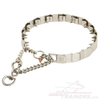 HS Stainless Steel Neck Tech prong Collar - 24 inch (60 cm) long