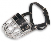 Extra Comfortable  Wire Cage Dog Muzzle for Daily Activity