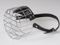 Wire Basket Dog Muzzle of Lightweight Construction