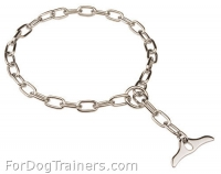 Amazing Fur Saver Collar with Toggle - Chrome-plated Choke Chain