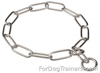 Best Herm Sprenger Fur Saver Collar  - Recommended by VDH member of F.C.I.