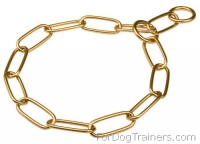 Herm Sprenger Rust-proof Brass Fur Saver for Obedience Training