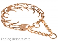 Curogan Dog Prong Collar  -  1/8 inch (3.25 mm) link diameter