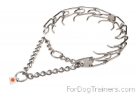 Effective Taining Prong Dog Collar of Stainless Steel 3.99mm (1/6 inch) Prongs