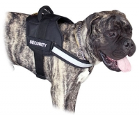 Reflective NYLON DOG HARNESS All Weather Harness for Bullmastiff