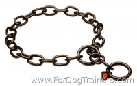 New Black Stainless Steel Fur Saver Collar