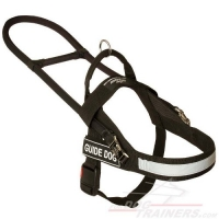 Lightweight Guide and Assistance Mobility Nylon Dog Harness