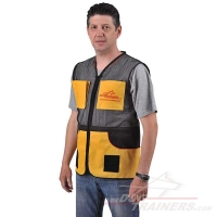 Air Ventilated Dog Training Vest with Convenient Large and Small Pockets