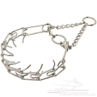 """Like a Mama's Pinch"" Dog Collar  - 1/10 inch (2.3 mm) prong's diameter"
