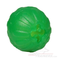 """Mental Stimulator"" Dog Toy Treat Dispenser - Chew Dog Ball  for Small Breeds"