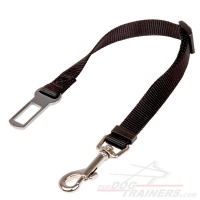'Conscious Passenger' Nylon Dog Car Safety Seat Belt - Dog Leash for Car