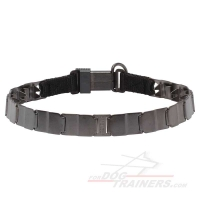'Strength 'n' Power' Neck Tech Sport Prong Collar of Stainless Steel Matt - 50050 (66)