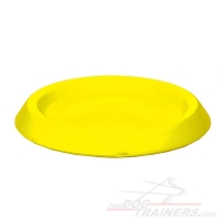Durable Flying Dog Disk for Training and Having Fun - 9 Inch (22 cm)