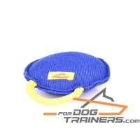 'Fast Bite' French Linen Dog Tug for Bite Training  8 * 8* 3 inch (20* 20* 7 cm) in size